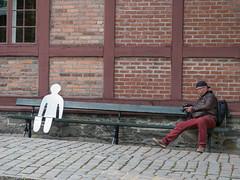 _9120063 On a bench.jpg (JorunT) Tags: oslo benk 2015 akershusfestning nasjonal fotovandring
