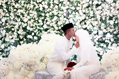 #CheritaFiqNa at the Duchess Place, Ampang. (Hilmi Ramlan) Tags: wedding love canon 50mm hijab kahwin perkahwinan 6d canon6d