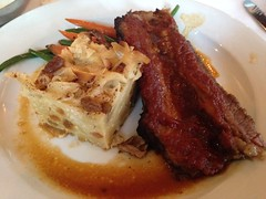 Jackson's, Pensacola FL (Deep Fried Kudzu) Tags: florida supper rosh pensacola hashanah jacksons kugel brisket
