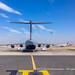 An unusual guest at Jomo Kenyatta Int. Airport: a Royal Air Force (GB) Boeing C-17 Globemaster III