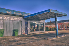 Old Service Station (mississippiinhdr) Tags: abandoned mississippi downtown louisville winston hdr