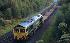 Photo of 66506, 6K04, Mossend Down Yard to Millburn Jn at Plean.
