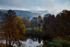 Scottish Autumn (explored) (another_scotsman) Tags: smileonsaturday treesinthepicture