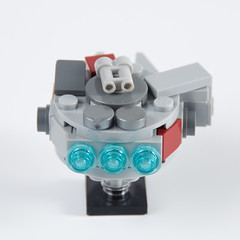 Micro Millennium Falcon (hanmcfly) Tags: starwars lego hansolo moc afol millenniumfalcon