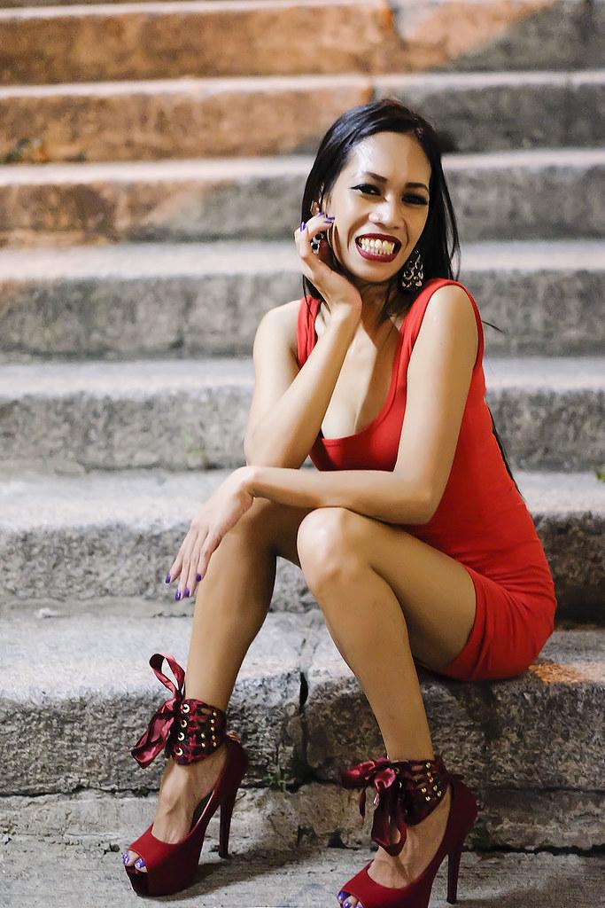 Angeles cute dress short up on skinny bodycon girl venice florida