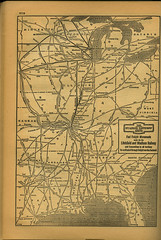 Official Guide of the Railways and Steam Navigation Lines of the United States... 1947 (Regional History Center & NIU Archives) Tags: railroad chicago st train louis illinois time railway standard eastern railraod