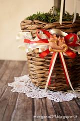 Alberello di Natale_14w (Morgana209) Tags: christmas tree handmade albero renna creatività alberello gessetti cannuccie natale2015