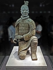 Lucky Boy (ArtFan70) Tags: china art soldier army asia chinese xian terracottawarriors warrior  prc  archer  lintong  terracottasoldier qin  asianart shannxi peoplesrepublicofchina terracottasoldiers terracottawarrior terracottaarmy  qinshihuang chn    xn  emperorqinshihuangsmausoleumsitemuseum firstemperorqin