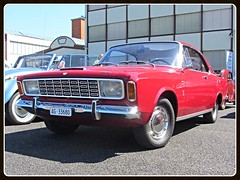 Ford Taunus 20M TS P7a, 1967 (v8dub) Tags: auto old classic ford car schweiz switzerland automobile suisse 7 automotive voiture m german 1967 oldtimer p 20 oldcar taunus ts collector wagen pkw klassik bleienbach worldcars