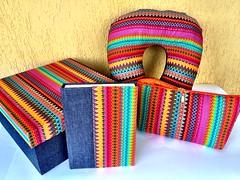 Kit Viagem (Carinho na Caixa) Tags: caixa viagem caderno necessaire protetorpescoo