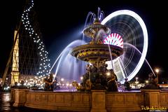 IMG_0938- Concorde (Dclicks & Dclacks) Tags: paris france fountain night canon place tokina concorde fontaine nuit placedelaconcorde 1116 40d 1116f28atx