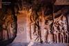Friezes from Cave 2 ([sujith]) Tags: cave karnataka badami chalukya bagalkot friezes vatapi