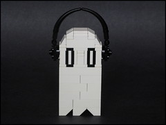 Napstablook (ExclusivelyPlastic) Tags: game video lego character ghost spook undertale