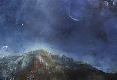 Mount Kenzo (Ken-Zan) Tags: painting oil art kl ljunghav kenzan bluemoon mountkenzo canvas smrgrdsbord oljemlning