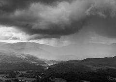 Hail over Langdale (Cirrusgazer) Tags: storm clouds rain wansfell langdale cumbria lakedistrct england dark ominous brooding dramatic