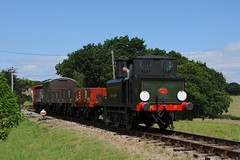 "W8 ""Freshwater"" - Wootton (GreenHoover) Tags: isleofwight iow isleofwightrailway isleofwightsteamrailway iowsteamrailway iowsr steamloco steamlocomotive terrier w8 w8freshwater freshwater goods freight islandsteamdays wootton"