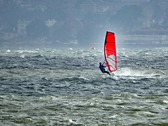 Wild & Windy Windsurfing on the Solent! (Nick.Bayes) Tags: wild windy windsurfing solent