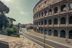 Downtown Rome (jpitha) Tags: rome ancientrome colsseum sunny cityscape