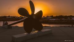 2183  Atardecer en el Puerto de Ciutadella, Menorca (Ricard Gabarrs) Tags: agua water mar puerto atardecer puestadesol airelibre playa sol ricardgabarrus olympus luz color ricgaba