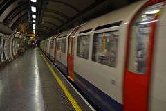 going underground (curly_em) Tags: underground london tube train red yellowline