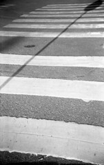 Walk (Nils Kristofer Gustafsson) Tags: blackandwhite bnw ishootfilm retro rollei 400s lomo lomography sweden rebro keepfilmalive filmisnotdead filmphotography film rodina adonal street abstract