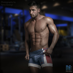 Chris Spearman NFM (TerryGeorge.) Tags: natural fitness models abs six pack workout toned athletic sexy male model