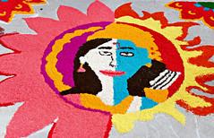 Diwali 2016 #6 (*Amanda Richards) Tags: diwali guyana guyanahindudharmicsabha georgetown rangoli creatingrangoli rice colours colouredrice hindu festivaloflights darkestnight