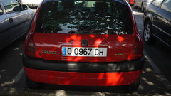 Renault Clio (Jusotil_1943) Tags: 07102016 beacons coche auto cars redcars