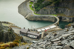 Dinorwic Power Station (alancookson) Tags: fujixt1210916 dinorwic powerstation llanberis hydroelectric electricmountain