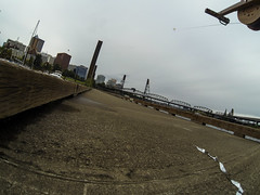 Kite Above Portland Oregon and the Willamette River (Wind Watcher) Tags: kap windwatcher kite dopero portland oregon willamette river