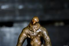 Regard d'aigle (misterblue66) Tags: a6000 cuivre copper koperen sony animal aigle eagle figurine 1160 regard