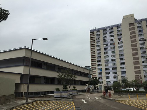 Lai King Estate and flatted factory