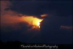 will burn you up... (Tzvetelina Nikolova) Tags: sun sky clouds burning night silhouette visions imagination soul