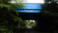 Edinburgh - Leith old railway (Caledonian route)   Clark Rd overbridge (dave_attrill) Tags: edinburgh haymarket leith caledonian railway disused trackbed granton carstairs lms cycle route path bridleway footpath remains newhaven clark road bridge