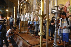 Stone of Anointing, Church of the Holy Sepulchre, Old City of Jerusalem (R-Gasman) Tags: travel stoneofanointing churchoftheholysepulchre oldcityofjerusalem israel
