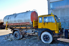 fiat 682 N2 (riccardo nassisi) Tags: truck camion abbandonato abandoned rust rusty relitto rottame ruggine ruins scrap scrapyard epave cava piacenza san nicol