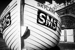 Skylark (Sean Batten) Tags: skylark boat nikon df 35mm blackandwhite bw sm5 beach