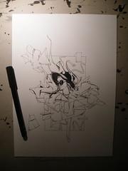 sketch in progress - ONART 2016 (ONART ONE) Tags: