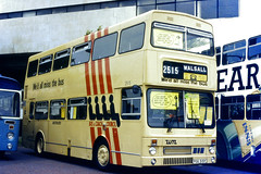 Slide 078-75 (Steve Guess) Tags: cardiff wales gb uk bus rally event municipal centenary metrobus mcw mk2 west midlands wmpte buscoachcouncil