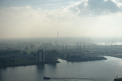 Harbour @ Observation Deck @ Euromast @ Rotterdam (*_*) Tags: rotterdam netherlands nederland city europe october autumn fall 2016 observationdeck observatory euromast tower view