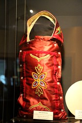 Baby Bunting Bag (demeeschter) Tags: canada yukon territory teslin lake town heritage center native american tlingit historical museum art attraction