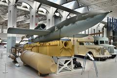 V-1 Doodlebug (Bri_J) Tags: iwmduxford cambridgeshire uk iwm duxford airmuseum museum aviationmuseum nikon d7200 imperialwarmuseum doodlebug wwii v1 missile vergeltungswaffe1 fieselerfi103