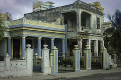 A Once Palatial Mansion in Havana (Greatest Paka Photography) Tags: unkempt vedado havana cuba crumbling building mansion home old decrepit majestic stately opulent contrast