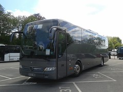 Cumbria Coaches, [BF65HWB] - Oxenholme (14/05/16) (David's NWTransport) Tags: cumbriacoaches bf65hwb mercedesbenztourismo mercedesbenz mercedestourismo mercedes tourismo