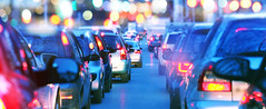 Why People Stress Over Holiday Driving (billp121) Tags: slow stuck citylife rushhour dusk waiting driving trafficjam traffic streetlight trapped frustration inarow crowded insideof transportation urbanscene night street road city pollution car taillight