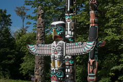 DSC09047 (sylviagreve) Tags: 2016 stanleypark vancouver totempoles