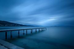 A Moody Afternoon (billpeppasphotography) Tags: moody dusk afternoon dock pier sea ocean water mediterranean aegean cloud cloudy clouds movement exposure long xp longexpo greece hellas lonely abandoned dark