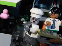 07-Modular Monster House MOC Halloween Edition kitchen_03 (fuggoo) Tags: zombie zombies legozombie lego moc modular monster monsters house halloween pumpkin marilyn monroe elvis presley joker ghost ghosts ghostbusters