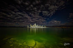 Another World (Riccardo Maria Mantero) Tags: clouds lake mantero riccardomantero riccardomariamantero alien blue green landscape mono night sky travel water waterscape world