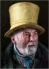 Butch - Ragged Victorian (DHHphotos) Tags: nikon d5300 wales caldicot castle ragged victorian butch fortress living history reenactor portrait face